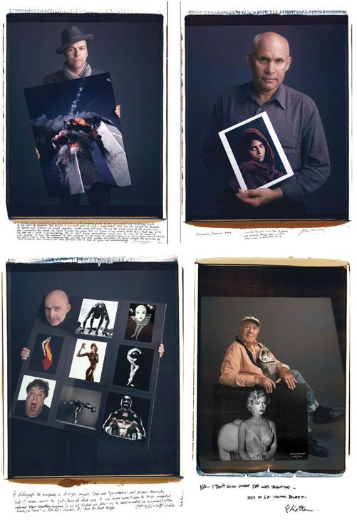 Os fotógrafos por trás de fotos memoráveis