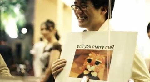 Pedido de casamento usando MEMES!!
